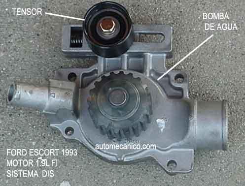 Ford Escort Banda De Tiempo Timing Belt Motor 1 9l 1993 94 Mecanica Automotriz