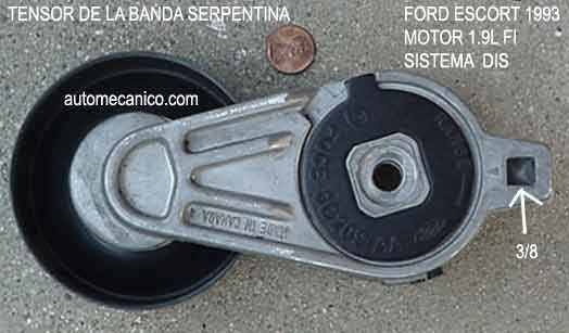 Ford Escort Banda De Tiempo Timing Belt Motor 1 9l