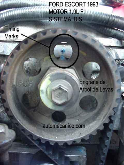 What Is A Timing Belt >> FORD ESCORT | BANDA DE TIEMPO - TIMING BELT | MOTOR 1.9L ...