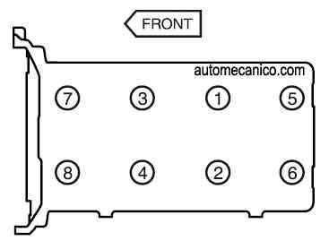 Secuenc on 1997 Dodge Caravan 3 Timing Chain