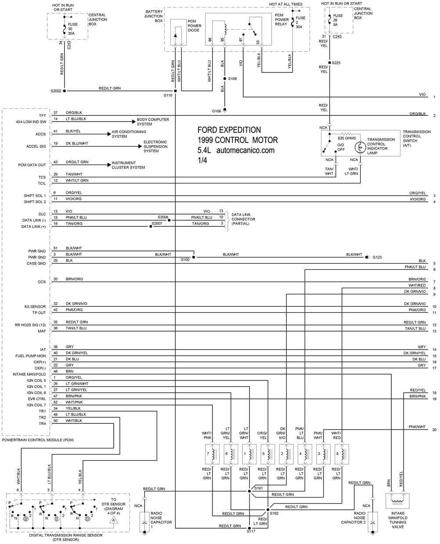 Ford Expedition 5 4l 1997 00 Diagramas Esquemas Graphics