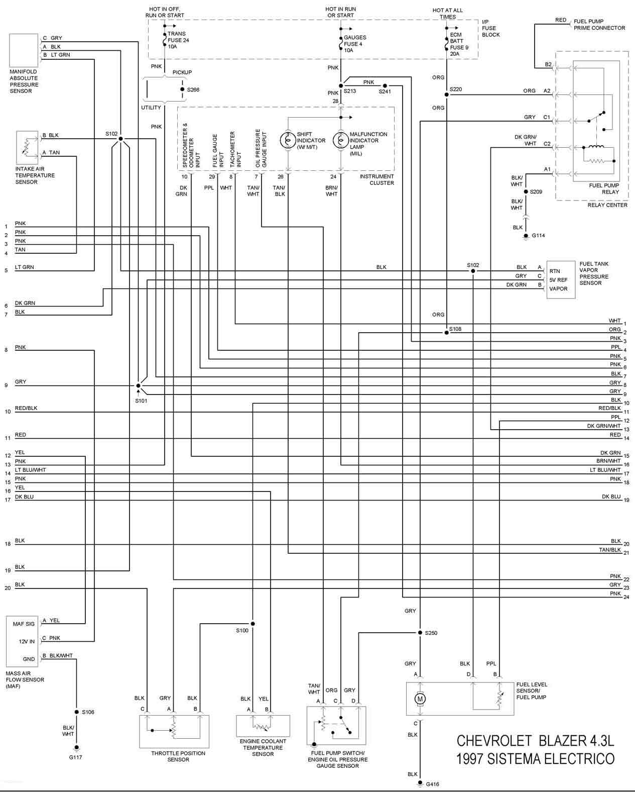 85 gmc jimmy wiring diagram