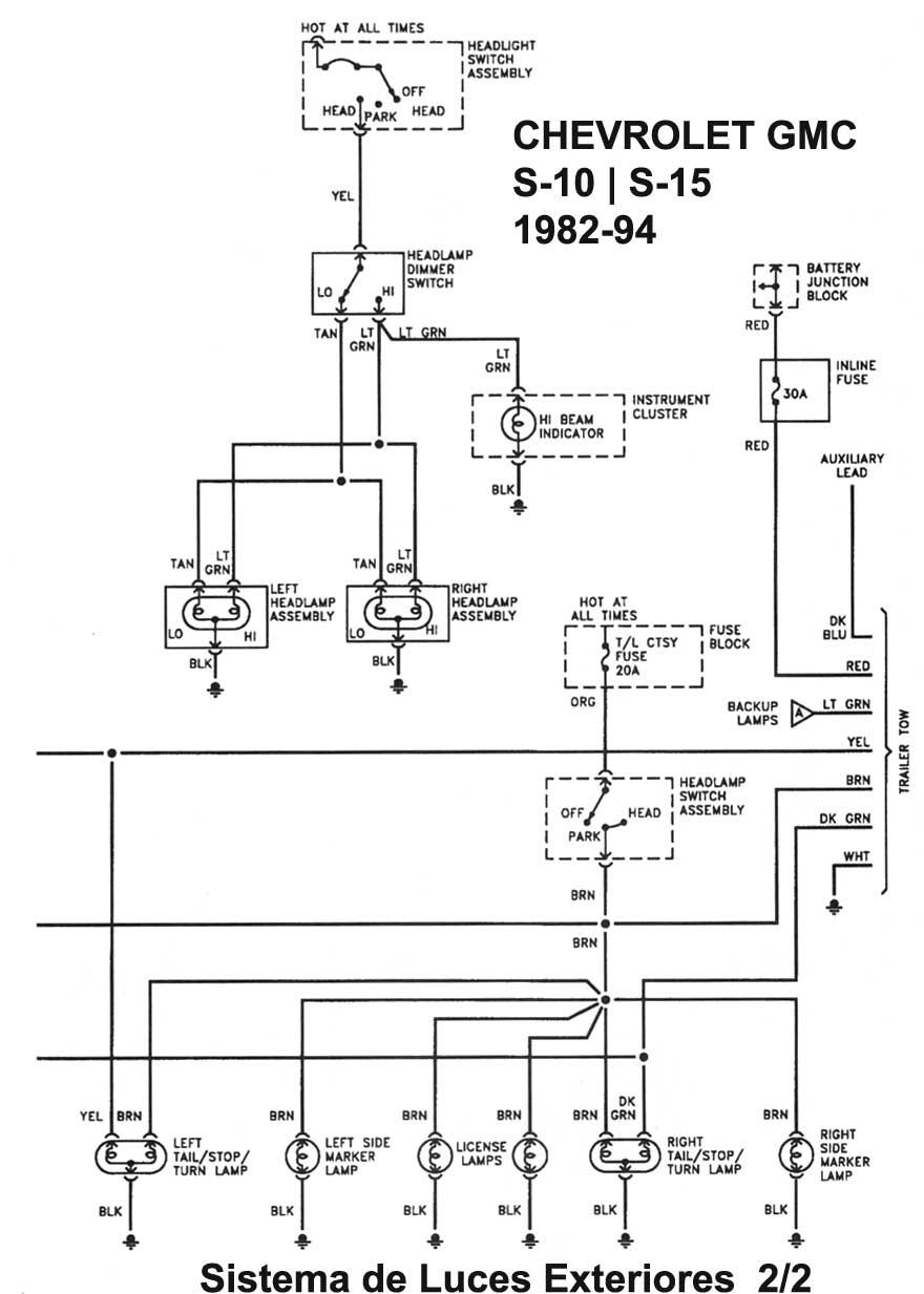 Chevrolet Gmc Diagramas Esquemas Graphics Mecanica