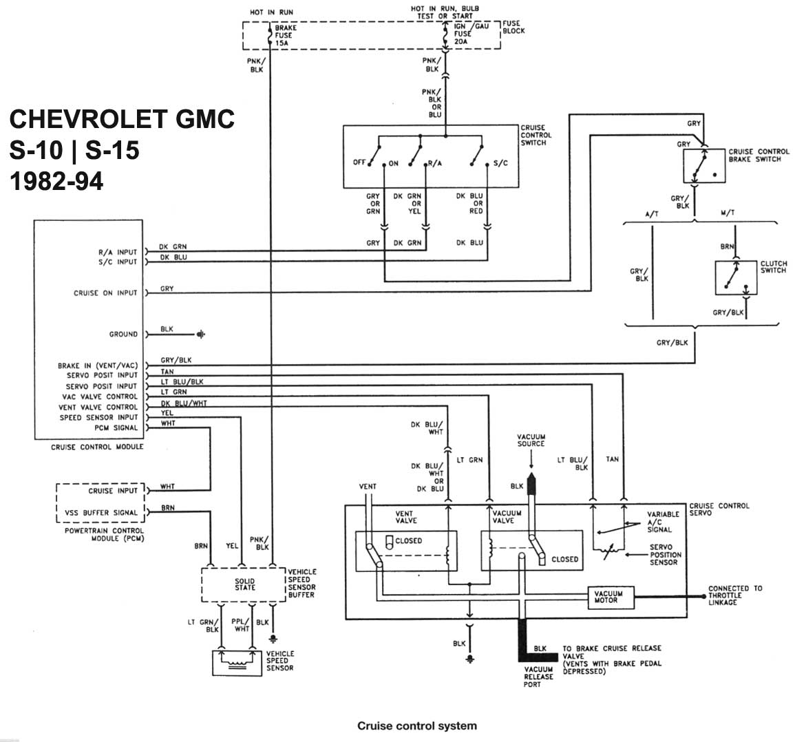 Chevy s wiring diagram