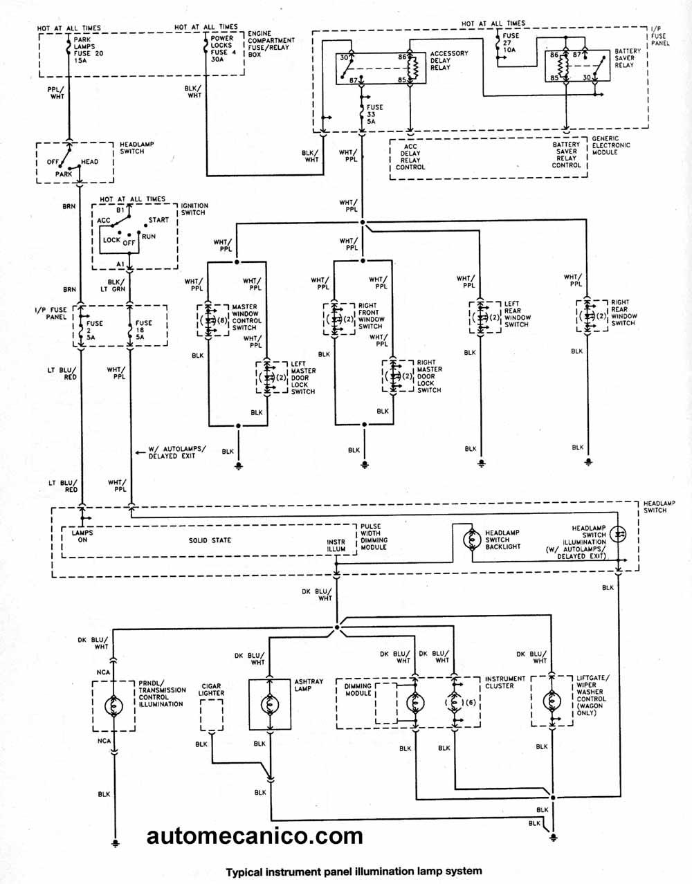FORD Diagramas esquemas electricos Taurus mecanica