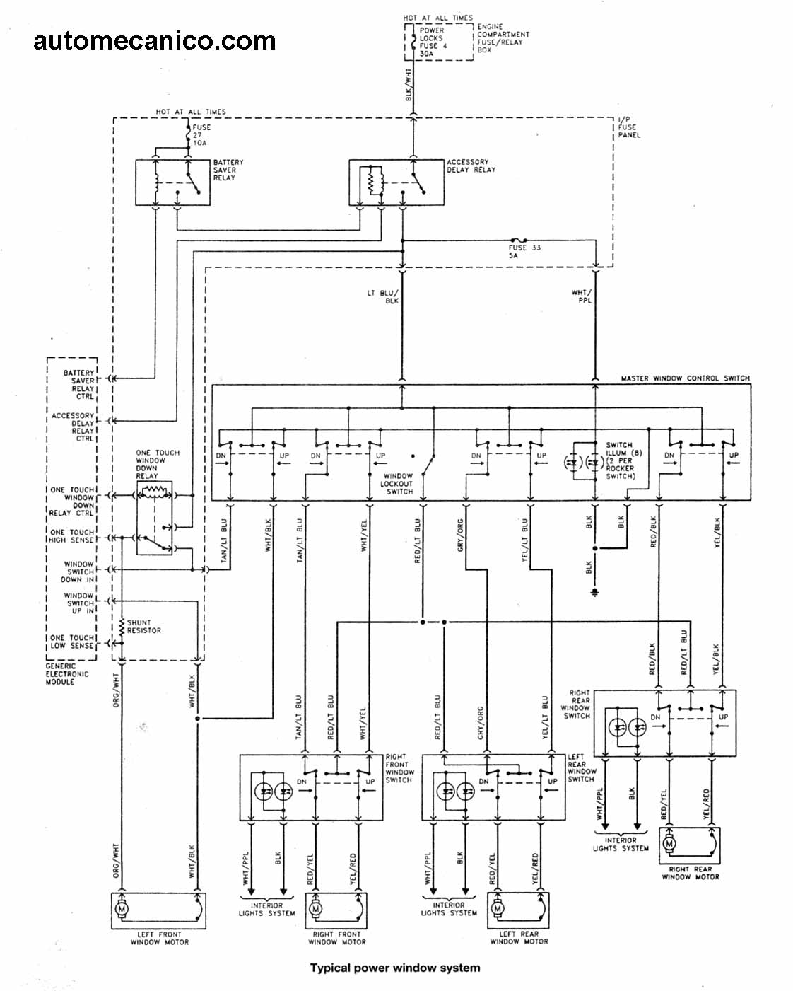 Diagrama Electrico De Ford Explorer 96