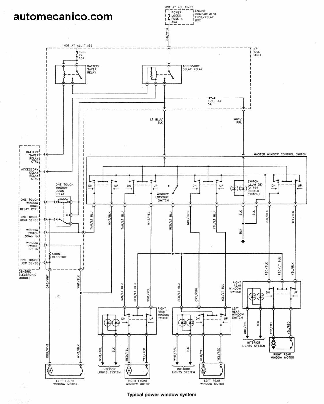 Download Diagrama De Fusibles Ford Windstar 2001