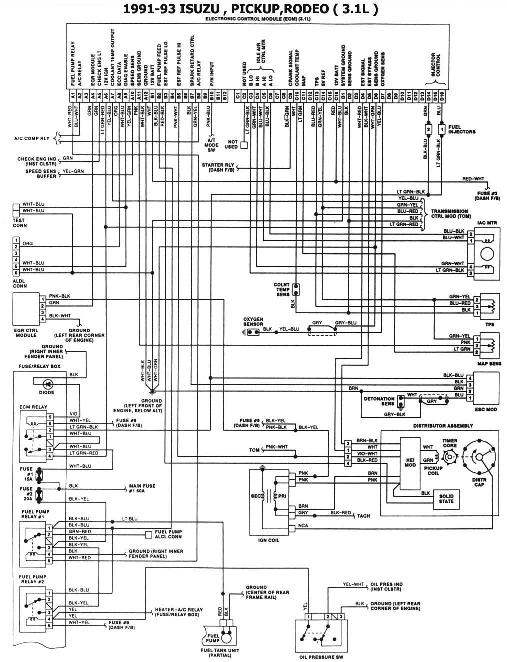 6E935F 91 Trooper Ecm Wiring Diagram | Wiring ResourcesWiring Resources