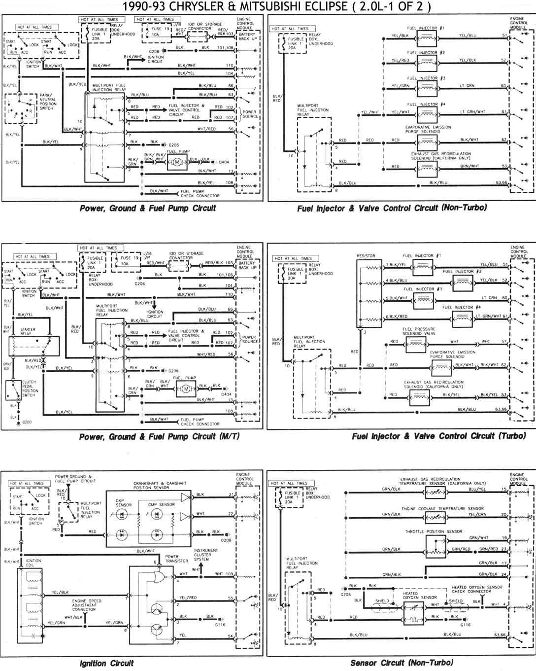 Diagramas Electricos Stratus 98 on 1999 Mitsubishi Galant De