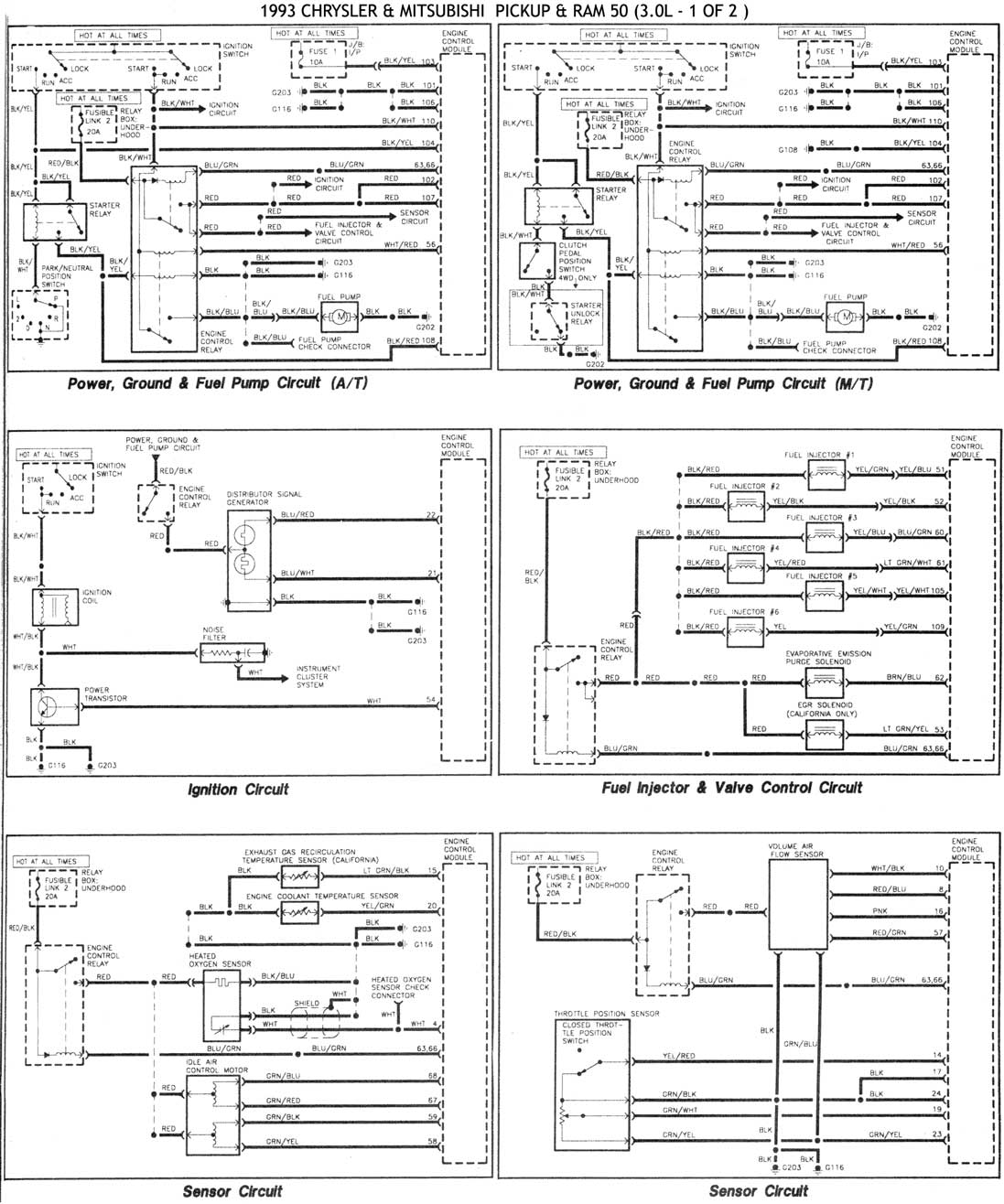 2001    Mitsubishi       Montero    Sport    Fuse       Box       Diagram      Car Interior Design