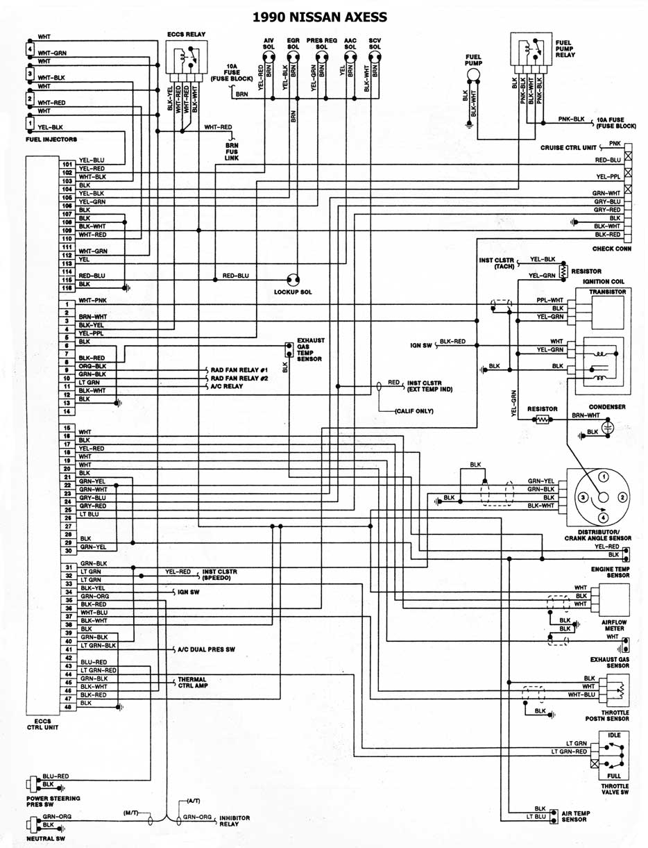 1992 nissan pathfinder wiring diagram    nissan    1986 93 diagramas esquemas ubicacion de     nissan    1986 93 diagramas esquemas ubicacion de