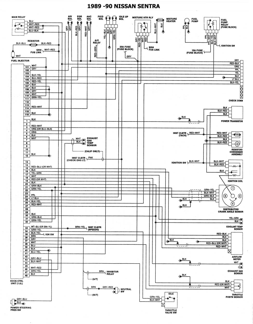 1993 nissan quest wiring diagram 1993 nissan quest parts