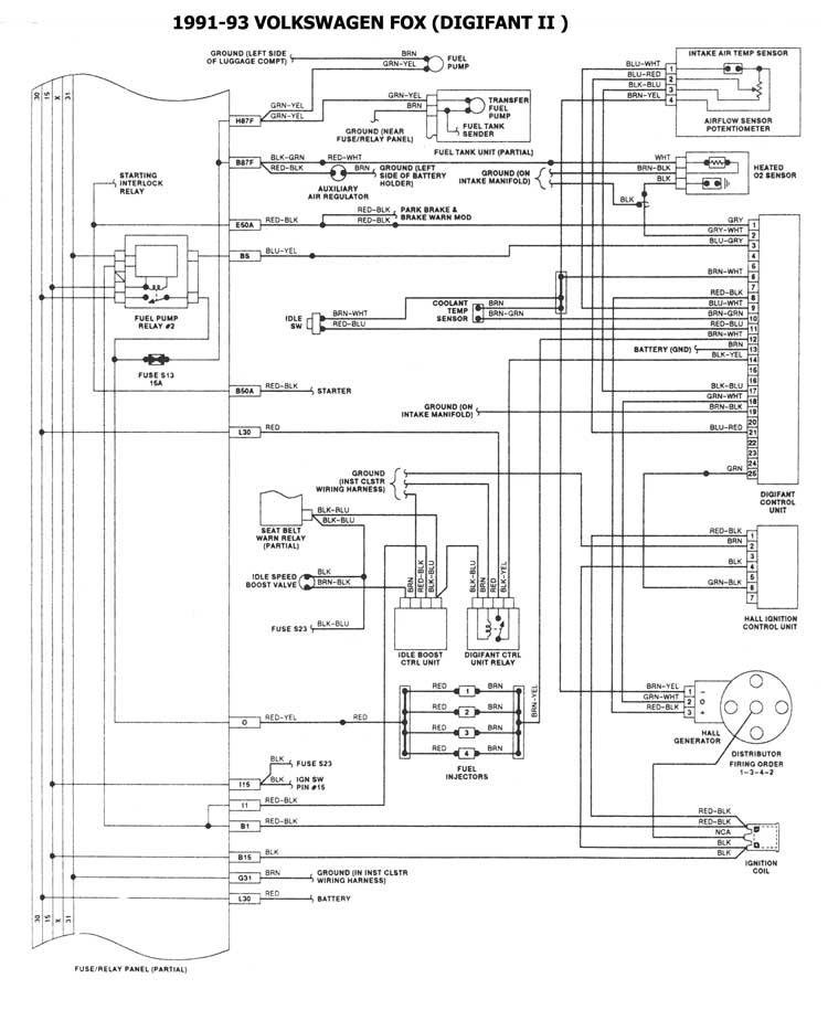 Volkswagen Esquemas Diagramas Graphics Rhautomecanico: Digifant Wiring Diagram 1990 Vw Cabriolet At Elf-jo.com