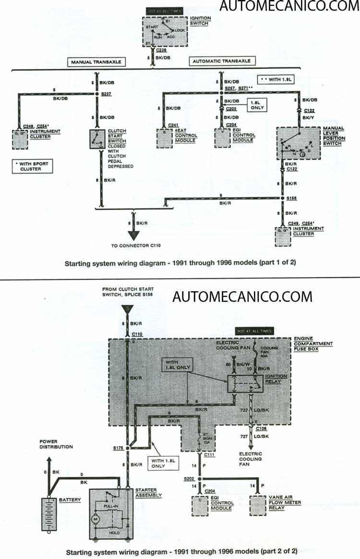 Sistema Electrico Ford Escort Ghia