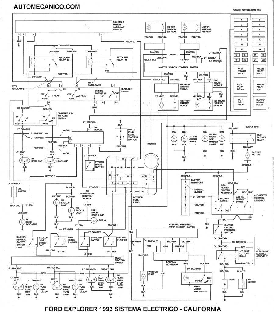 esquema motor ford ka