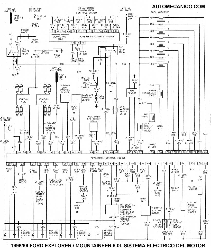 Wiring Diagram For 2003 Ford F150 Opinions About 2001 Explorer Starting System Esquemas Diagramas Graphics F 150 Stereo