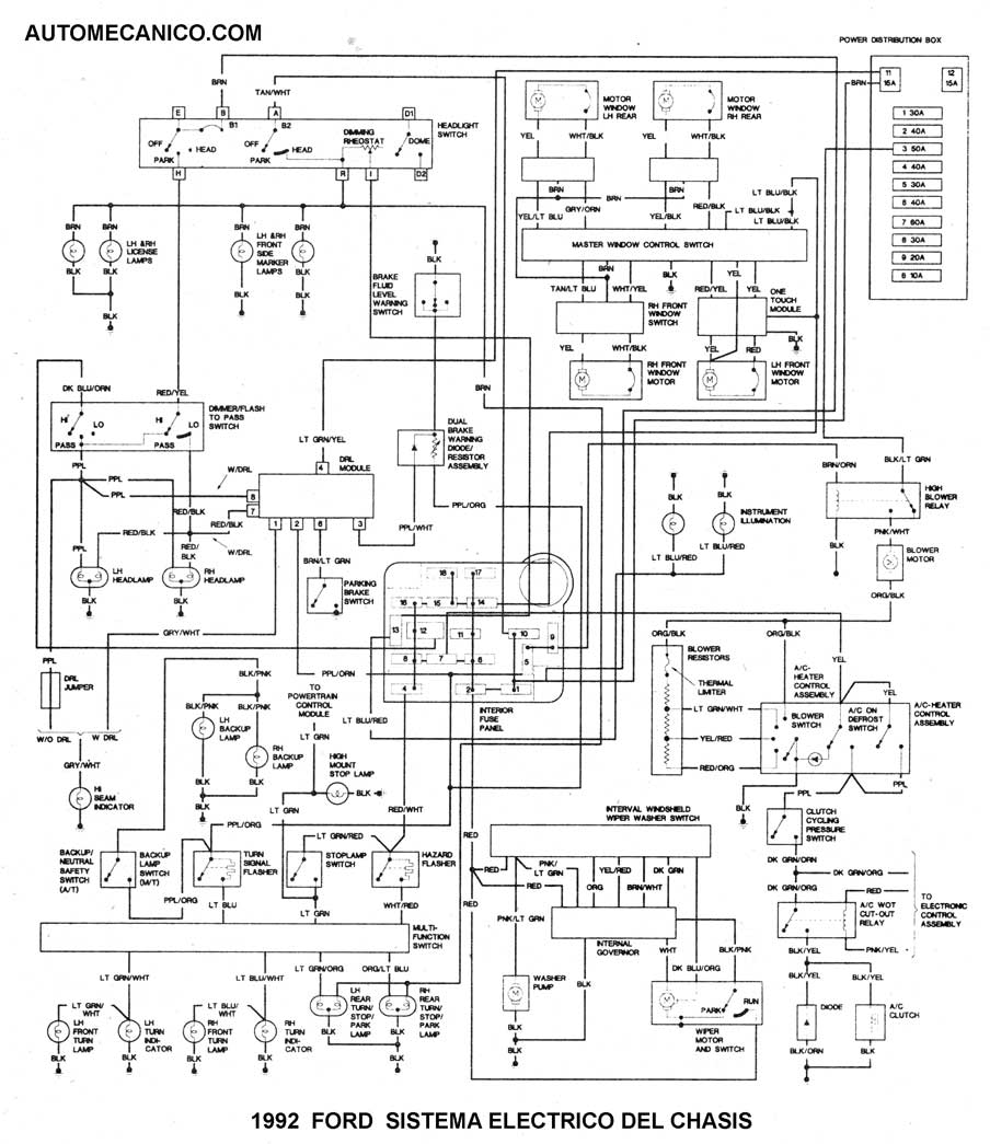 2000 Ford Explorer Wiring Diagrams