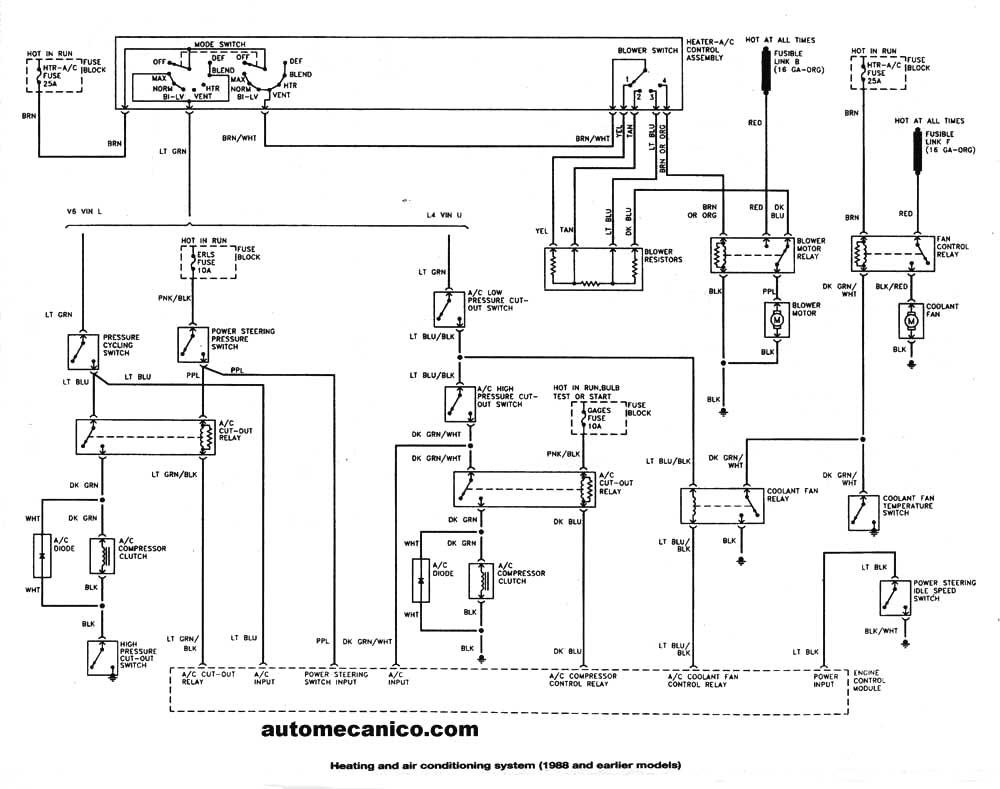 sistema de aire acondicionado y calefaccion Tipico Sistema de