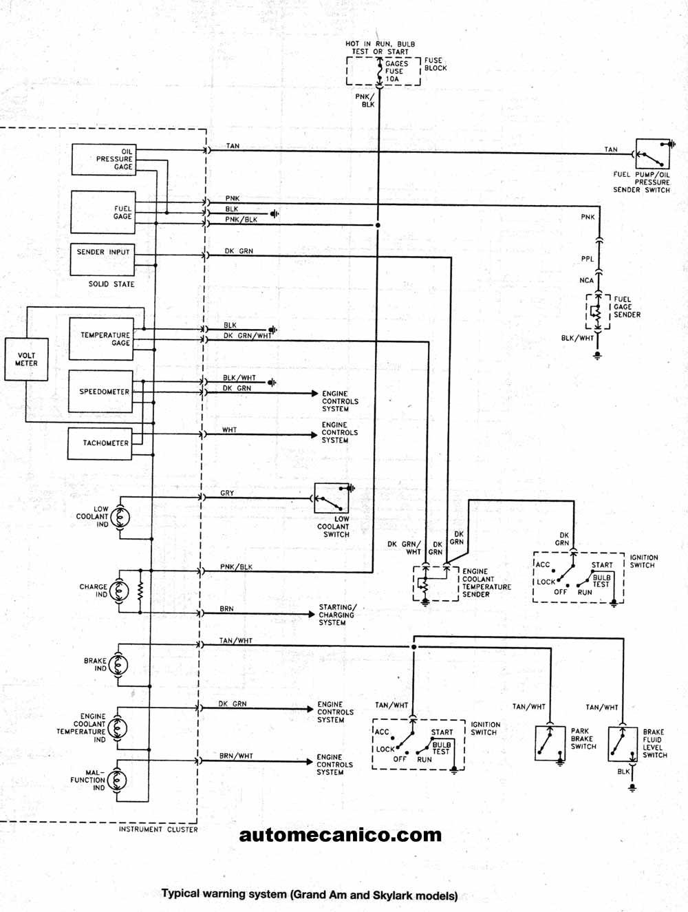 2006 Pontiac Sunfire Starter Wiring Diagram Not Lossing Belt 1994 Sunbird 97 Grand Am Get Free Image About For 2000