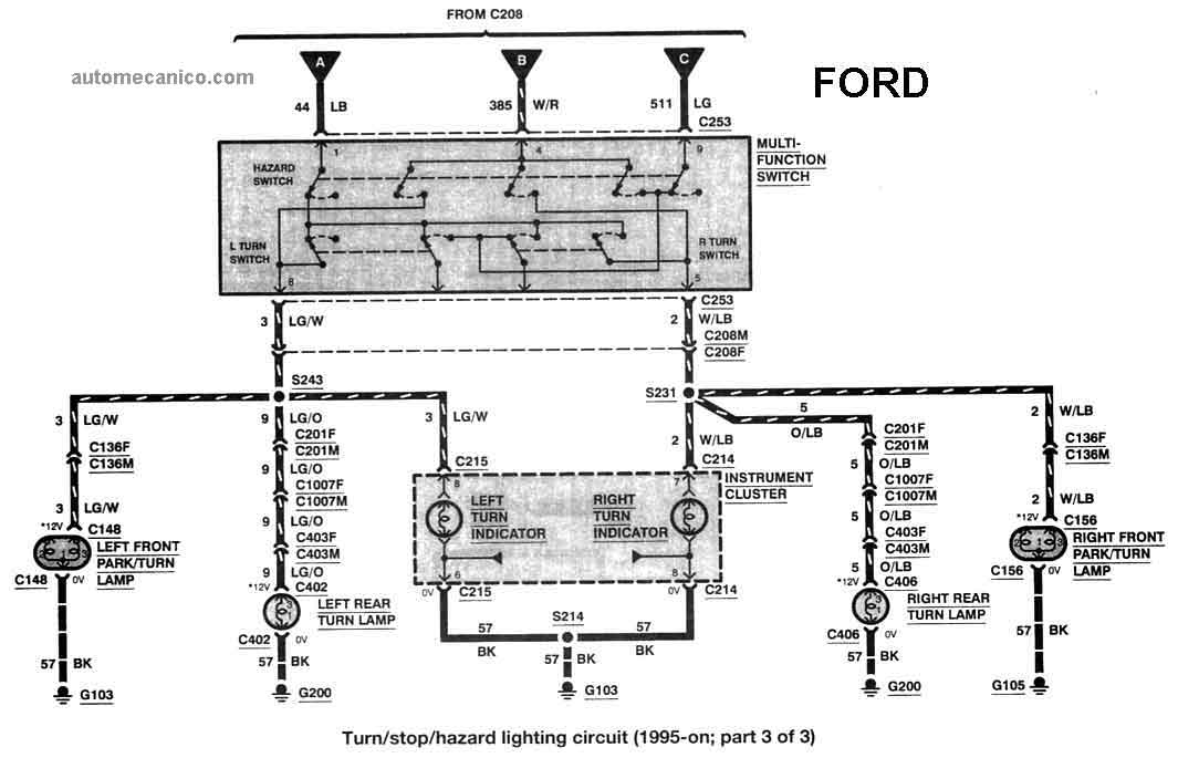 ford ranger 1993  96