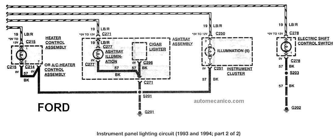 94 Ford Ranger Alternator Wiring Diagram : Ford escort wiring schematic get free image about