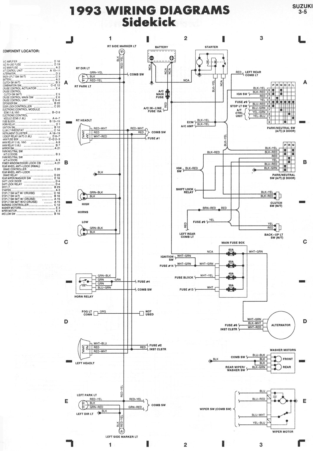 sidekick-01  Tracker Wiring Diagram on