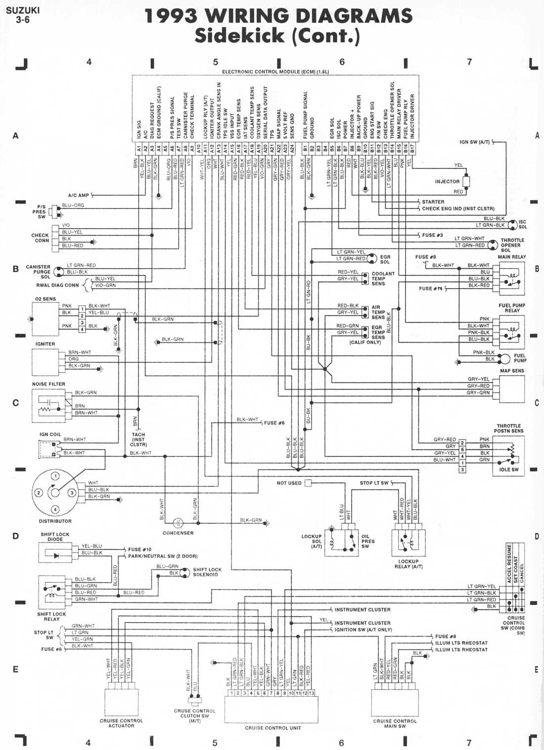 1996 suzuki motorcycle atv wiring diagram manual