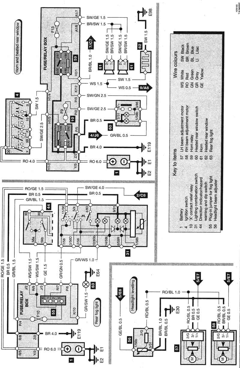 Ford Tempo Wire Diagram F Wiring Diagrams Online 1985 Fuse Box Ranger Radio Images For 1992 Get Image About