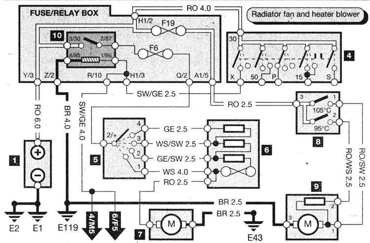 diagrama electrico automotriz sistema electrico tipico arrancador y