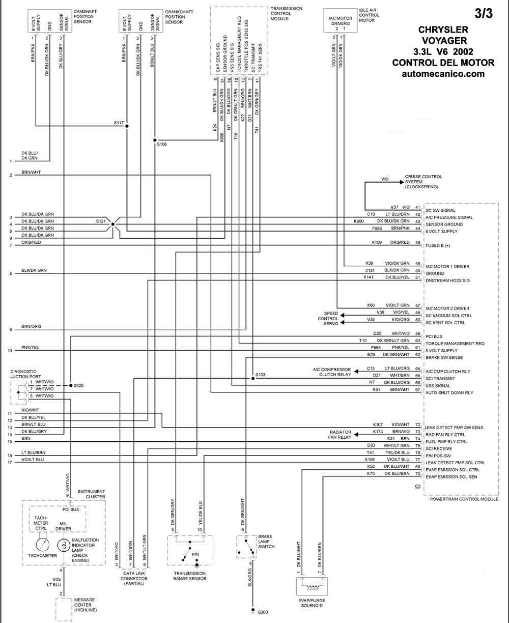 94 grand voyager wiring diagram
