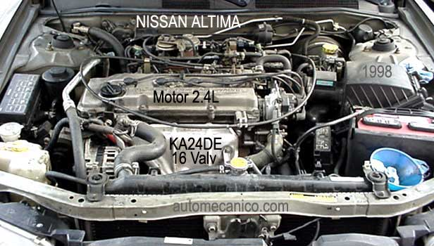 Thermostat location 2001 nissan altima thermostat get for Nissan altima 2001 motor