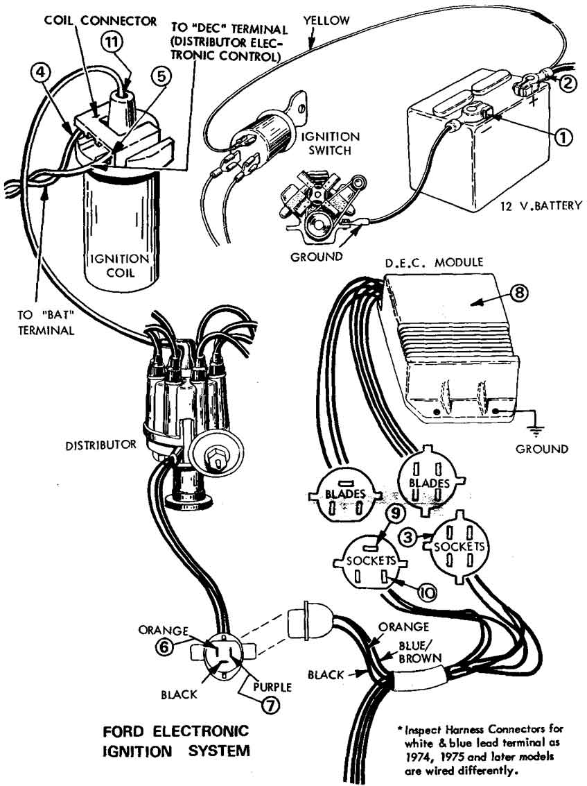 diagram of a ford 302 motor