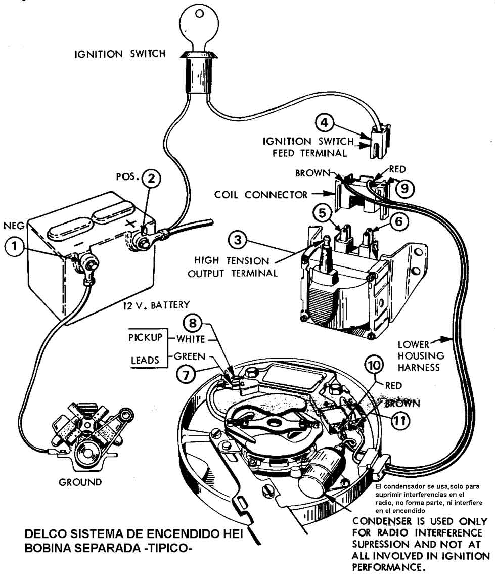WC6t 4475 together with P 0900c15280085077 together with 67 Nova Wiper Wiring Diagram as well Firing Order For 350 Chevy Motor likewise Distributor. on hei distributor wiring