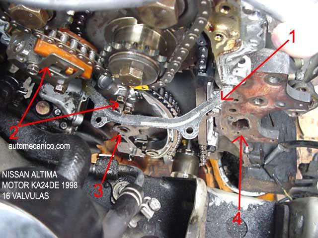 Cadena De Tiempo Nissan Altima 2 5