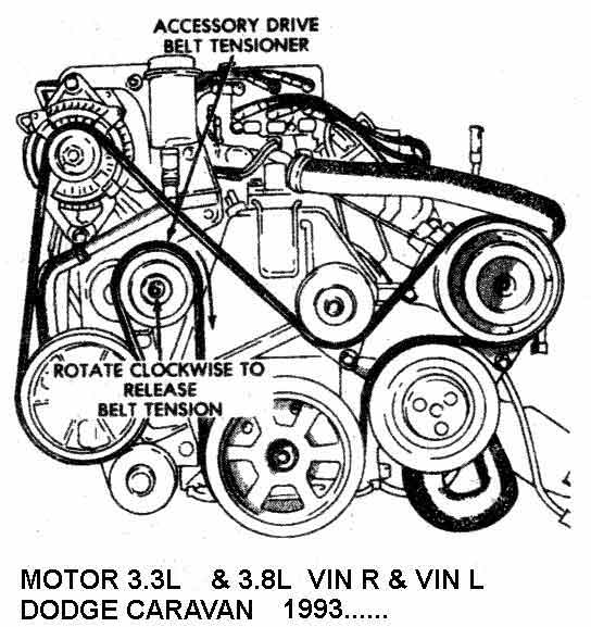 Chrysler93971 on 2000 Ford Mustang 3 8 Serpentine Belt Diagram