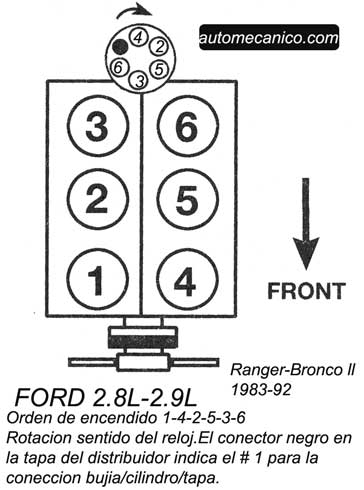 Oe879101 on ford 302 firing order