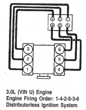 Ford Windstar 3 8 Firing Order Diagram