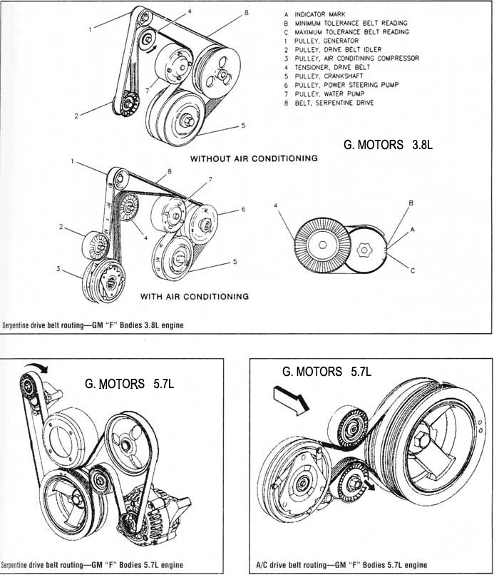 Oemotor98022 in addition 2001 Mitsubishi Belt Diagram additionally Pontiac Engine Diagram in addition Scion Tc Power Steering Diagram besides Replace 3400 GM V6 Belt Pictures. on pontiac bonneville serpentine belt diagram