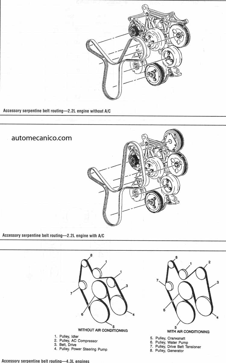 chevy impala of 3 4l engine diagram