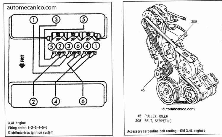 3800 serpentine belt diagram 2005 impala  3800  free