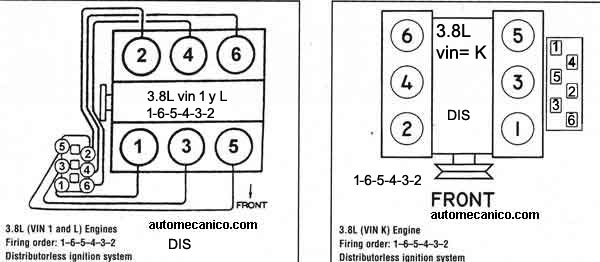 468596 Orden De Encendido Ford Windstar 3 8 2002 Cadillac on Spark Plug Diagram For 2003 Ford Ranger