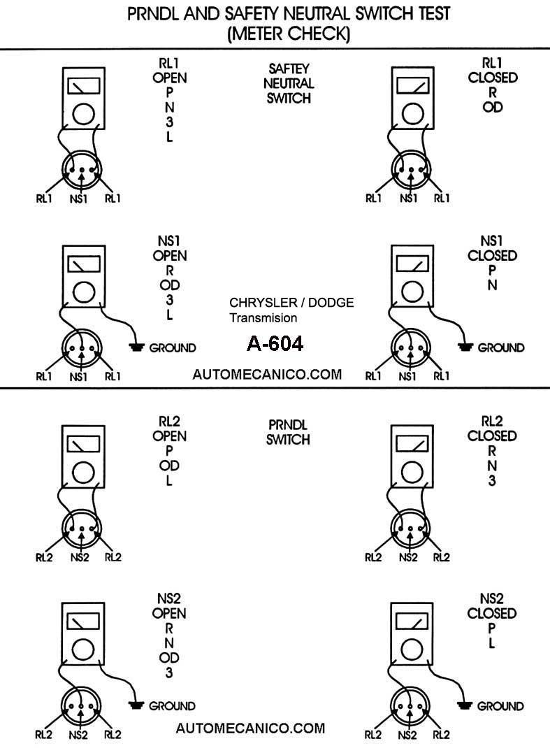 Chryslerdodge Transmisiones Automaticas Componentes Despiece A606 42le Transmission Wiring Diagram Ver Despiecediagnostico Y Especificaciones A604 41te 1996 99 Manual