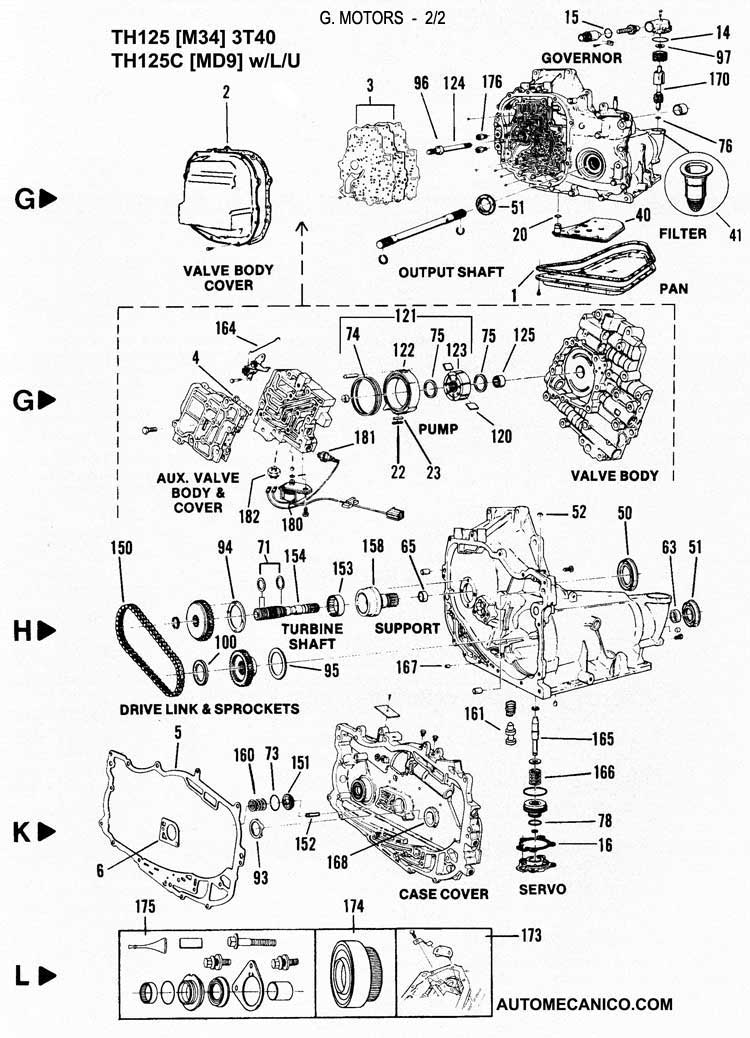 03 buick rendezvous 3 4 belt diagram