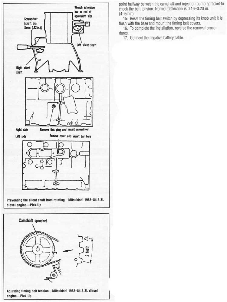 diagrama de cadena de tiempo motor 24 16v nissan pick up