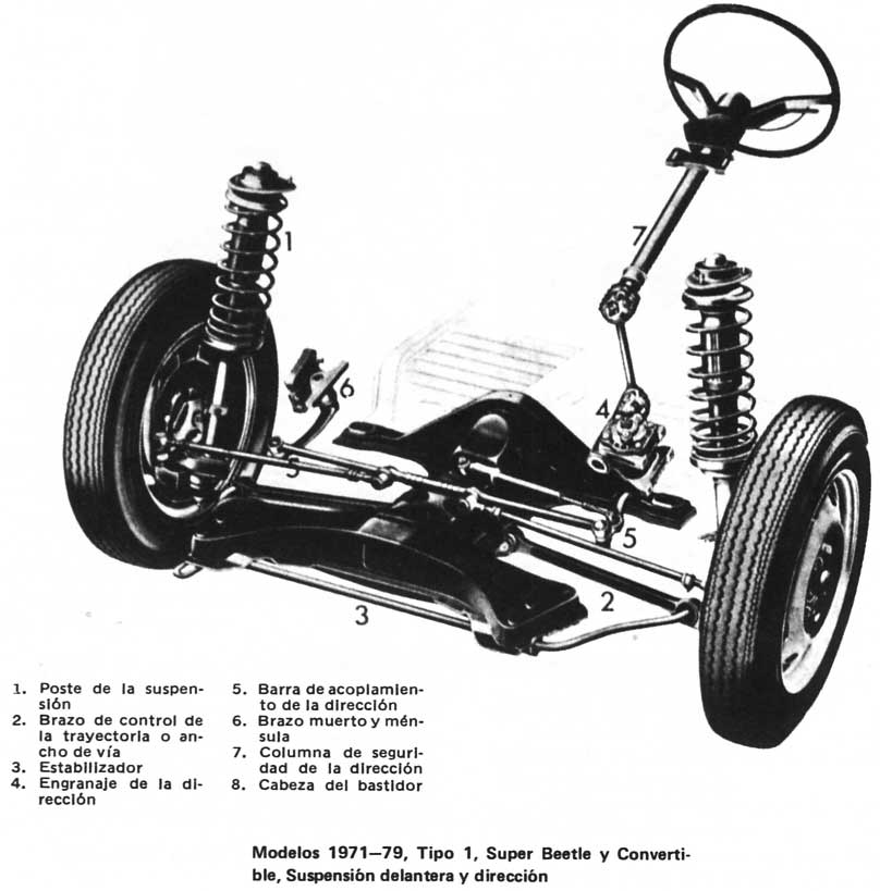 vw super beetle front suspension