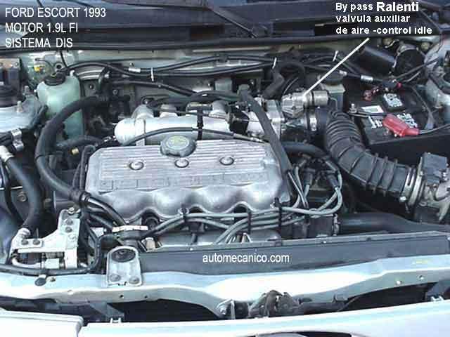 Ford Escort 1 9l Y 2 0l