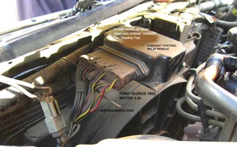 Ford Taurus 1991 Motores Imagenes Fotos Conexiones