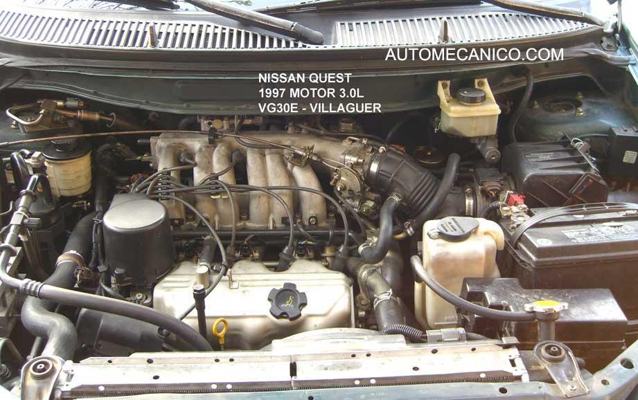 MERCURY Villager, NISSAN Quest 3.0L - Motores, Imagenes, Fotos