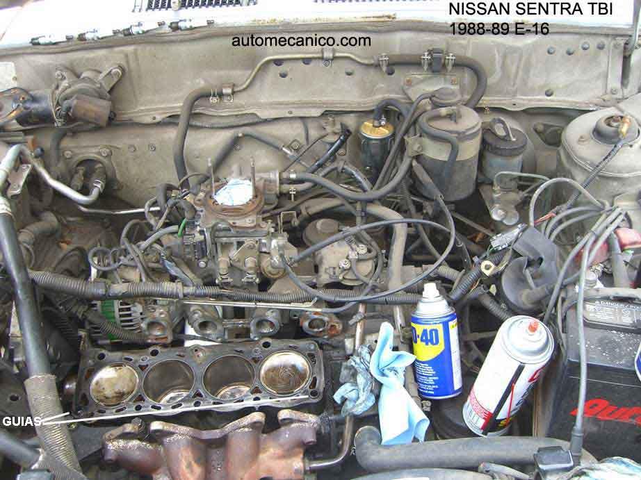 NISSAN Sentra  Motores  Imagenes  Fotos de motor  E15